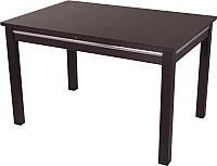 Обеденный стол Домотека Твист 80x120-157 (венге) -