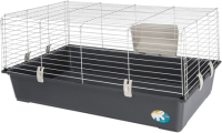Клетка для грызунов Ferplast Rabbit 100 New / 57052370EL (серый, бюджет) -