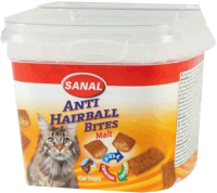 Лакомство для кошек/собак Sanal Malt Bits / 1571SC (75г) -
