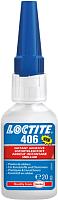 Клей Henkel Loctite 406BO Цианоакрилатный / 1924110 (20г) -