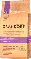 Корм для собак Grandorf Large Lamb & Rice (12кг) -