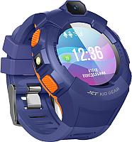 Умные часы детские JET Kid Gear (голубой/оранжевый) -