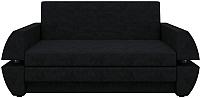 Диван Mebelico Атлант Мини Т 496 / 58659 (вельвет, черный) -