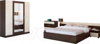 Ricco уют венге комплект мебели для спальни купить в минске