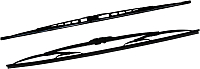 Щетки стеклоочистителя Bosch Twin 3397118500 -