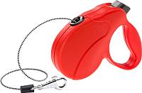 Поводок-рулетка Ferplast Amigo Easy S / 75741222 (шнур красный) -