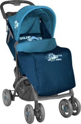 Детская прогулочная коляска Lorelli Smarty (Blue Captain) - чехол для ног