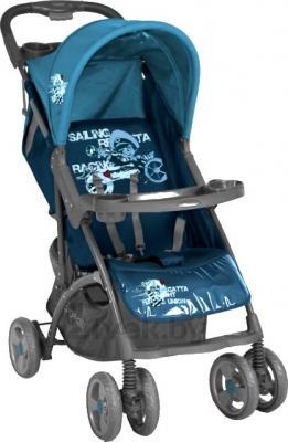 Детская прогулочная коляска Lorelli Smarty (Blue Captain) - общий вид
