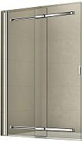 Стеклянная шторка для ванны RGW SC-44 / 03114410-11 (хром/прозрачное стекло) -