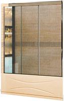 Стеклянная шторка для ванны RGW SC-41 Easy / 04114115-51 (хром/шиншилла) -