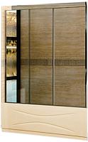 Стеклянная шторка для ванны RGW SC-41 Easy / 04114118-11 (хром/прозрачное стекло) -