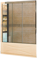 Стеклянная шторка для ванны RGW SC-41 Easy / 04114118-51 (хром/шиншилла) -