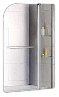Стеклянная шторка для ванны RGW SC-08 с полками / 03110810-11 -