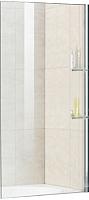 Стеклянная шторка для ванны RGW SC-54 с полками / 03115408-11 -