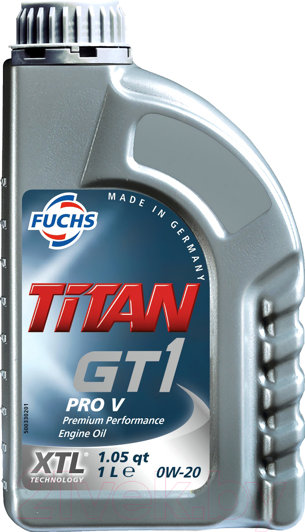 Купить Моторное масло Fuchs, Titan GT1 PRO V 0W20 / 600998417 (1л), Германия