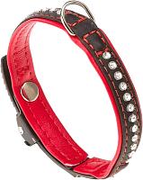 Ошейник Ferplast Lux C12/22 / 76030017 (черный/красный) -