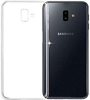 Чехол-накладка Case Better One для Galaxy J6 Plus (прозрачный глянец) -