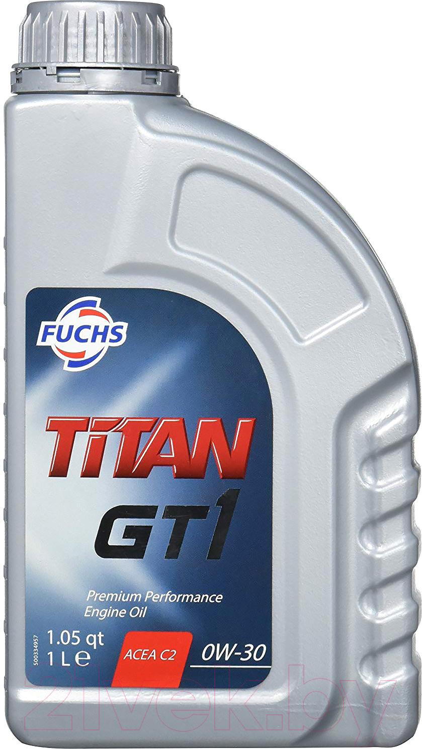Купить Моторное масло Fuchs, Titan Gt1 0W30 / 600999797 (1л), Германия