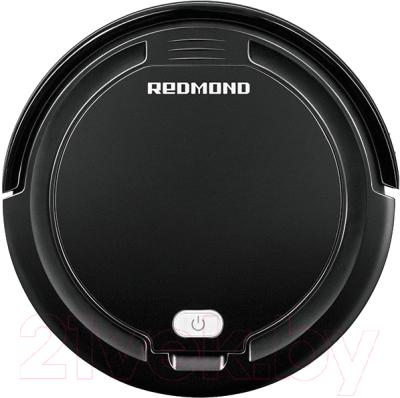 Робот-пылесос Redmond RV-R350 (черный) -