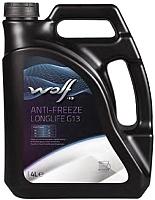 Антифриз WOLF G13 Anti-Freeze Longlife концентрат / 50002/4 (4л, красный) -