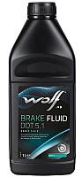 Тормозная жидкость WOLF Brake Fluid DOT 5.1 / 5038/1 (1л) -