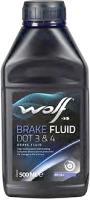 Тормозная жидкость WOLF Brake Fluid DOT 3/4 / 5039 (0.5л) -