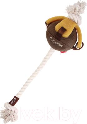 Игрушка для животных Gigwi Мяч на веревке 75458