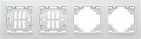 Рамка для выключателя EKF Basic Минск-4 горизонтальная (белый) -