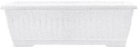 Вазон Алеана Терра 112091 (белый флок) -