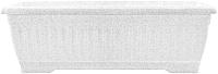 Вазон Алеана Терра 112094 (белый флок) -