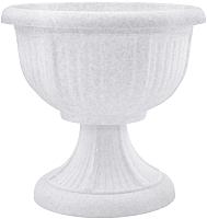 Вазон Алеана Леон 114002  (белый флок) -