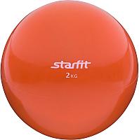 Медицинбол Starfit GB-703 (2кг, оранжевый) -