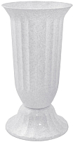 Вазон Алеана Флора 114033 (белый флок) -