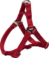 Шлея Trixie Premium One Touch Harness 204603 (L, красный) -