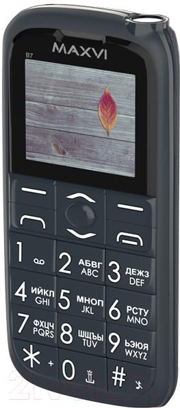 Купить Мобильный телефон Maxvi, B7 (маренго), Китай