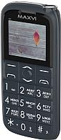 Мобильный телефон Maxvi B7 (маренго) -