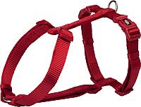 Шлея Trixie Premium H-harness 1999603 (XL-XXL, красный) -