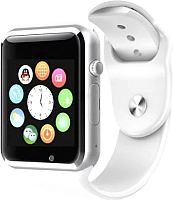 Умные часы Miru A1 (серебристый/белый) -
