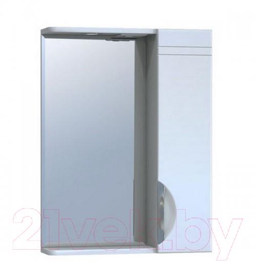 Купить Шкаф с зеркалом для ванной Vigo, Callao 600 (правый), Россия