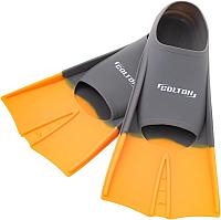 Ласты Colton CF-01 (р. 30-32, серый/оранжевый) -