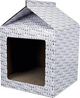 Домик-когтеточка Trixie 48010 (белый) -