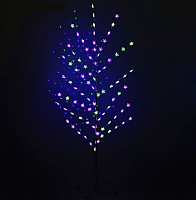 Светодиодное дерево Luazon Звезда в крапинку 1077254 (1.5м) -