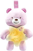 Мобиль на кроватку Chicco Медвежонок / 91561 (розовый) -