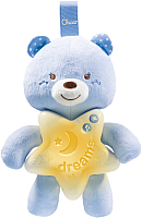 Мобиль на кроватку Chicco Медвежонок / 91562 (голубой) -