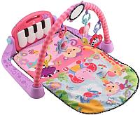 Развивающий коврик Lorelli Пианино / 10300260002 (розовый) -