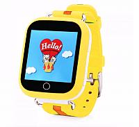 Умные часы детские Smart Baby Watch Q10 (желтый) -