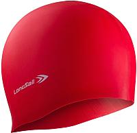 Шапочка для плавания LongSail Силикон 1/240 (красный) -