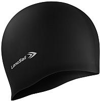 Шапочка для плавания LongSail Силикон 1/240 (черный) -