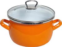 Кастрюля Сантэкс 1-2450111 (оранжевый) -