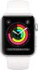 Умные часы Apple Watch Series 3 38mm / MTEY2 (алюминий серебристый/белый) -